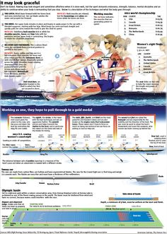 Rowing poster from Olympics