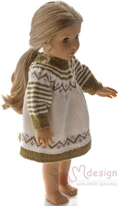 70 Ideas for knitting summer dress doll clothes Crochet Doll Dress, Knitted Dolls, Knitted Hats, Crochet Hats, Knitting Dolls Clothes, Doll Clothes, Dress Clothes, Knitting For Kids, Easy Knitting