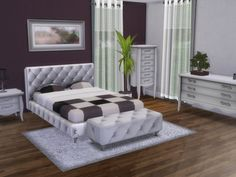 Emir bedroom by spacesims at TSR via Sims 4 Updates