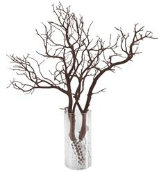Manzanita Branch centerpiece Party Pack! 15 branches, vases and filler beads, including shipping!