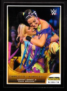 Charlotte & Bayley NXT Unstoppable 2016 WWE Road To Wrestlemania Trading Card - http://bestsellerlist.co.uk/charlotte-bayley-nxt-unstoppable-2016-wwe-road-to-wrestlemania-trading-card/