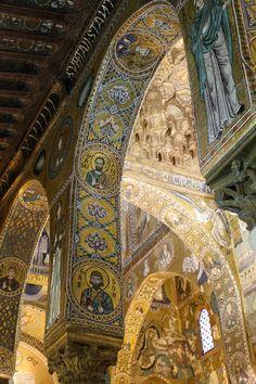 echiromani:  Cappella Palatina, Palermo.