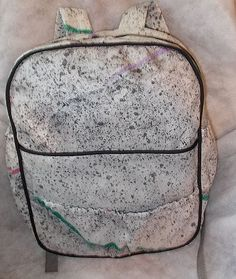 Free Pattern and Directions to Sew a Full Size Back Pack with Pockets to Hold All of Your Essentials and Padded Straps for Comfort - Page 1