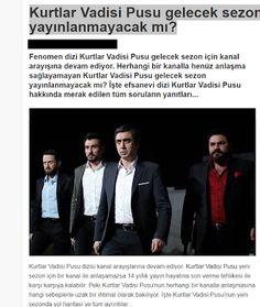 Kurtlar Vadisi Pusu'nun Kanalı Belli Oldu !: Kurtlar Vadisi Pusu gelecek sezon yayınlanmayacak ...