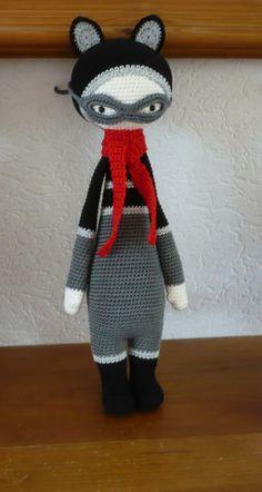 ROCO made by Yvonne S.-S. / crochet pattern by lalylala