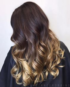 Brown+Hair+With+Golden+Blonde+Ombre