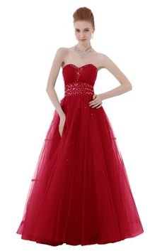 Ball Gown Dress: Clothing