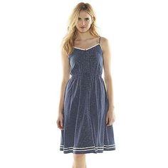 DISNEYS MINNIE MOUSE LC LAUREN CONRAD BLUE POLKA-DOT DRESS 16;NWT