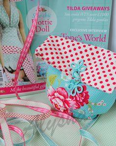 МК тканевый мешочек из новой книги Homemade ideas. - Форум
