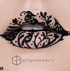 17 bouches maquillées de façon aussi extravagantes que créatives... Vous allez adorer ce que fait cette artiste !