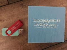 Our Mix n Match Swivel Flash Drive & Custom Snap Box by Photography by Shannon! #branding #photographers #flashdrive #custom