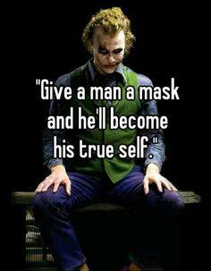 Joker Was A True Thinker