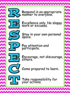 Class routines to be established at the beginning of the year – Classroom Supplies Classroom Expectations, Classroom Behavior, School Classroom, Classroom Management, Champs Behavior Management, Respect Lessons, Teaching Kids Respect, Respect Activities, Classroom Rules Poster