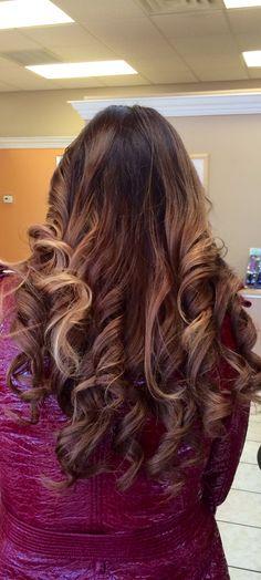 My hair. Ombré.
