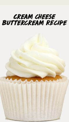 Icing Recipe For Cake, Best Frosting Recipe, Cream Cheese Buttercream Frosting, Creamcheese Frosting Recipe, Best Frosting For Cupcakes, Not Too Sweet Frosting, Frosting Without Powdered Sugar, Crusting Buttercream Recipe, Homemade Frosting Recipes