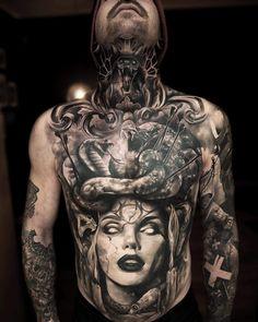 New tattoo hombre torso ideas Tattoos Torso, Tattoos 3d, Kunst Tattoos, Stomach Tattoos, Tattoo Drawings, Body Art Tattoos, Sleeve Tattoos, Tattoo Ink, Tatoos