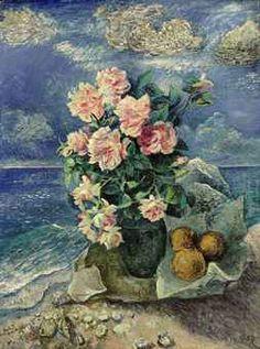 David burliuk | David Burliuk (1882-1967) | Flowers by the Sea | IMPRESSIONIST ...