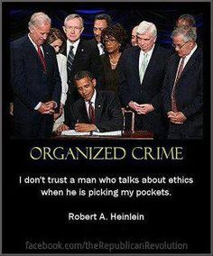 how to start organized crime