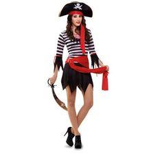 Resultado de imagen para disfraz pirata mujer halloween