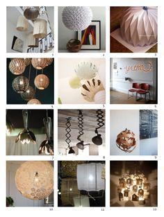 DIY Lamps http://lovideas.blogspot.fr/