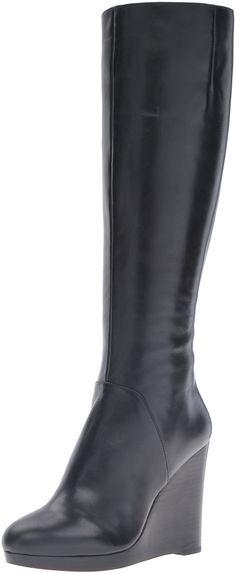 Nine West Women's Harvee Leather Winter Boot
