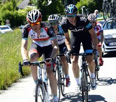 UCI #WorldTour: G.Rast is a domestique et rides for the others.Today he looked after himself and won on #TourDeSuisse