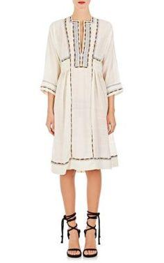 ISABEL MARANT Voile Clayne Dress. #isabelmarant #cloth #dress