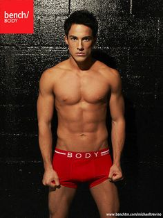 12. Michael Trevino Models Underwear For Bench Body Clothing
