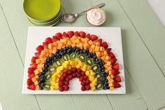 Image result for fruit to rainbow