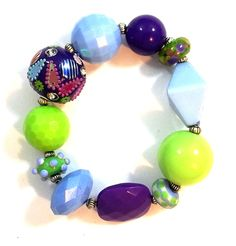 Pin Me! Penny Candy #35 by Linda Dunn Or Buy Me on URCrafti.com   ##accessory ##boho ##Bright#bling ##charmbracelet ##chunkybracelet ##collectors ##fashionforwomen ##fun ##funky ##giftforher ##jewelry ##trendy ##Womensfashion ##womensgift #bracelet #luvit