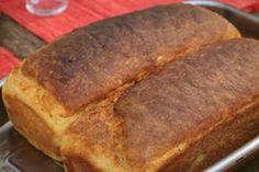 Pão de milho caseiro