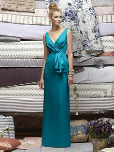 Bridesmaid Thoughts --- http://www.dessy.com/dresses/lelarose/lr172/#