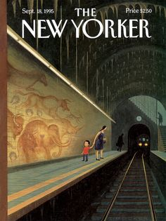 Eric Drooker : Cover art for The New Yorker, September 1995 The New Yorker, New Yorker Covers, Magazine Art, Magazine Design, Magazine Covers, Print Magazine, Capas New Yorker, Inspiration Artistique, New Yorker Cartoons