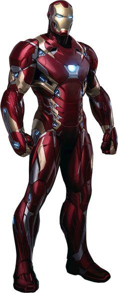 Iron Man Armor Mark 46