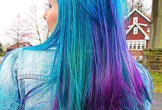 Imagini pentru par colorat
