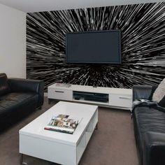 Star Wars Hyperspace Peel and Stick Mural - Mural