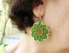 free crochet earrings tutorials - Google Search
