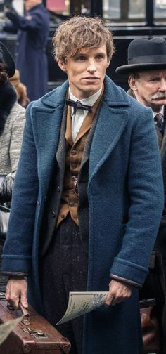 Eddie Redmayne as Newt Scamander in Fantastic Beasts