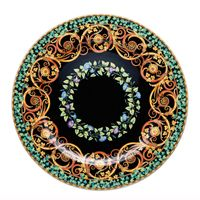 Rosenthal Versace 20 Years Plate Collection Wall Plate 'Gold Ivy' 30 cm