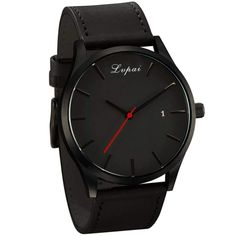 Lvpai P066 Men s Fashion Casual Leather Wrist Watch 021b5b588b