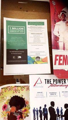 Look whats on campus bulletin boards #zerotodebt #zerostudentloan - facebook.com/rlwonderland