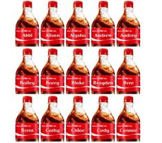 Coca-Cola Australia's 'Share a Coke' campaign, which personalised cola cans with popular girls and boys names, has been hailed as one of the 'most-admired' recent advertising campaigns in the world, according to a new report.
