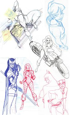 Old Sketches 1 by LaurenMontgomery.deviantart.com on @deviantART ★ || CHARACTER DESIGN REFERENCES | キャラクターデザイン  • Find more artworks at https://www.facebook.com/CharacterDesignReferences & http://www.pinterest.com/characterdesigh and learn how to draw: #concept #art #animation #anime #comics || ★