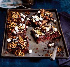 Rezept: Aufgebrezelte Brownie-Schnitten | Mutti kocht am besten