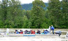 Haines Alaska Jetboat in Chilkat Bald Eagle Preserve
