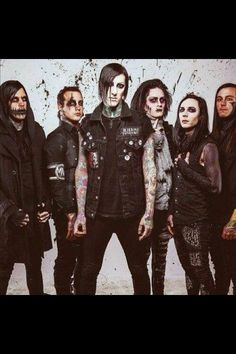 Motionless in white x2