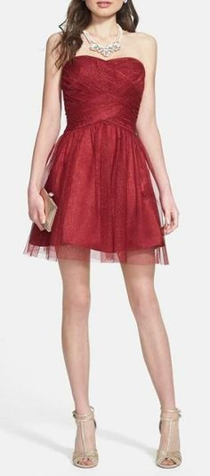 Glitter Tulle Party Dress