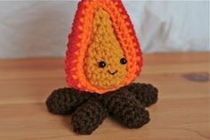 Sometimes it is okay to play with fire  crochet by EternalSunshine, $20.00