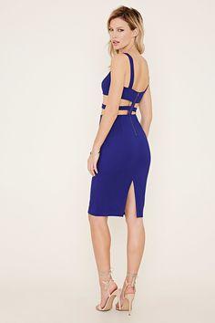 Strappy Cutout Bodycon Dress  16c1b1c52