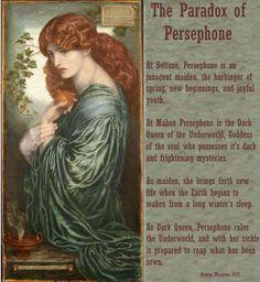 Greek Gods And Goddesses, Greek And Roman Mythology, Hades And Persephone, Persephone Story, Persephone Greek Mythology, Persephone Costume, Hogwarts, Mythology Tattoos, Legends And Myths